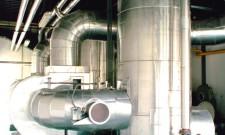 Kladno - výměník (heat exchanger)